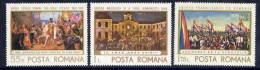 ROMANIA 1968 Anniversary Of Incorporation Of Transylvania   MNH / **   Michel 2721-23 - 1948-.... Republics
