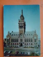 V09-59-nord--dunkerque-hotel De Ville Place Charles Valentin---voiture- - Dunkerque