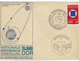 1192 FDC Magdeburg 1969 DDR Alemania Espacio , Astronauta - [6] Democratic Republic