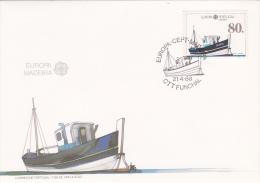 Madeira Portugal FDC: 1988 Europa CEPT (G52-55) - Europa-CEPT