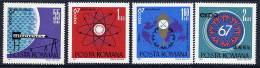 ROMANIA 1967 EXPO Montreal Set MNH / **  Michel 2635-38 - 1948-.... Republics
