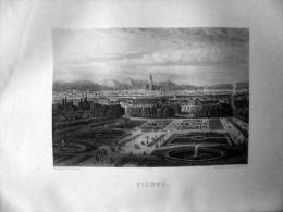 GRAVURE DE 1876  VIENNE - Historische Dokumente