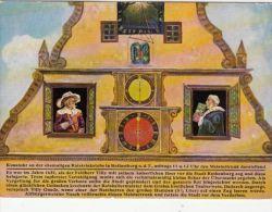CPA ROTHENBURG- THE TOWN CLOCK - Rotenburg