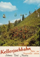 CPA SCHWAZ- MOUNTAINS, CABLE CHAIR, SPECIAL STAMPS - Schwaz
