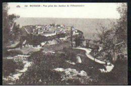 06 - MONACO - VUE PRISE DES JARDINS DE L'OBSERVATOIRE - Exotic Garden