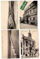 5 Cpa Pont Saint Esprit, Ponts, Hôtel De Ville, Pénitents - Pont-Saint-Esprit