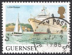 Guernsey, 5 P. 1985, Sc # 287, Mi # 327A, Used - Guernsey