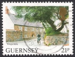Guernsey, 21 P. 1991, Sc # 453, Mi # 516A, Used - Guernsey