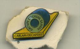 Pin - Carlam - Decaperie - Groupe Cockeril Sambre - Habits & Linge D'époque