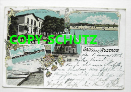 3371 WUSTROW Ostseebad Fischland - Litho - Z. B. NORDENS Hotel - Fischland/Darss