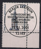 2001 Allem. Fed. Yv. 1989 Mi.2157 FD-used  Berlin   EUR Dom St. Nikolai, Greifswald - BRD