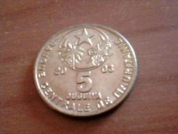 MAURITANIA 5 OUGUIYA 2003 KM# 3 - Mauritania
