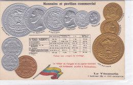 CARD MONETE VENEZUELA BANDIERA IN RILIEVO COME DA SCANNER   -FP-N-2-0882-19207 - Monete (rappresentazioni)