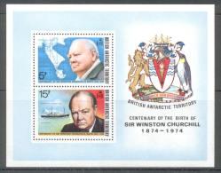 British Antarctic Territory - BAT - 1974 - Michel Nr. Block 1 ** - Britisches Antarktis-Territorium  (BAT)