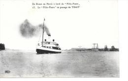 """De Rouen Au Havre à Bord Du """"Félix Faure"""" - Non Classés"""
