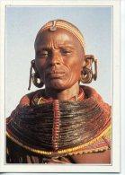 KEN005 - KENYA - Femme Samburu, En Costume Traditionnel - Kenya