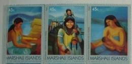 MARSHALL ISLANDS 1989 MI 209-11 CONNECTION TO ALASKA VERY FINE MNH - Marshalleilanden