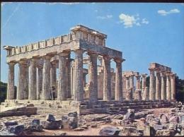 Atene - The Temple Of Afaia - Formato Grande Viaggiata - D - Grecia