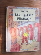 1947 Les Cigares Du Pharaon(ou Aventures De Tintin,reporter Orient) 4é Album Bande Dessinée Originale Hergé Casterman - Tintin
