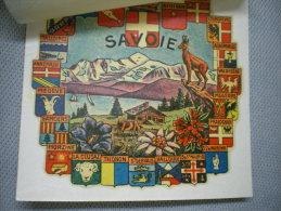 Grande Décalcomanie ; Armoiries, Blasons : (73) Savoie, Haute-Savoie, Cranves-Sales (74) - Non Classificati