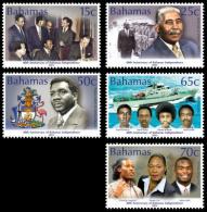 BAHAMAS 2013 // Bateaux, Personnages, 40e Ann De L'independence - 5val Neufs // Mnh - Bahama's (1973-...)