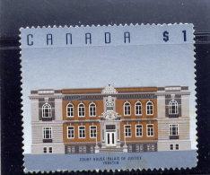 CANADA, 1994. USED # 1375,  COURT HOUSE , YORKTON SK ,  USED - 1952-.... Règne D'Elizabeth II