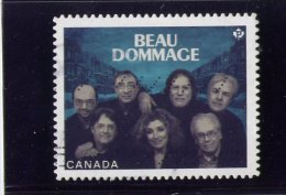 CANADA, 2013. USED.   Beaudommage  French Canadian Group ,  USED - 1952-.... Règne D'Elizabeth II