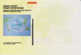 (AKE 102) Esperanto Card From Poland Art Contest Esperanto As Friendship Language - Arta Konkurso - Esperanto
