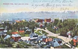 UTAH  SALT LAKE CITY,  BIRDS-EYE  VIEW  1912  Used - Salt Lake City