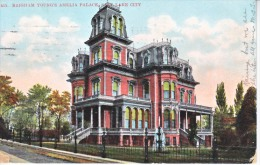 UTAH  SALT LAKE CITY,  BRIGHAM YOUNG'S AMELIA PALACE  1907  Used - Salt Lake City