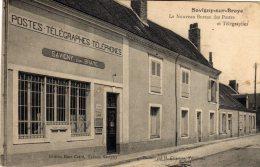 SAVIGNY SUR BRAYE - Le Nouveau Bureau Des Postes Et Télégraphes Belle Grille Façade De La Poste - France