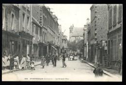 Cpa 14 Ouistreham La Grande Rue -précurseur  -parfait état   -édit Bréchet            T1 - Ouistreham