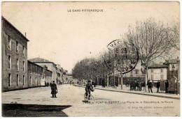 Pont Saint Esprit - La Place De La République, Le Cours - Pont-Saint-Esprit