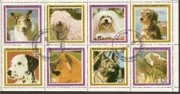 Equatorial Guinea, Dogs, Sheet, Used - Guinée Equatoriale