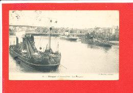 76 DIEPPE Cpa  Avant Port Les Dragues    11 Boudrier - Dieppe