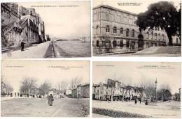 4 Cpa, Pont Saint Esprit, Rues, Hôpital, Escalier, ... - Pont-Saint-Esprit