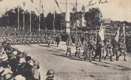 CPA - Les Chasseurs - Les Fêtes De La Victoire 14 Juillet 1919 - Régiments