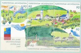 Liechtenstein N° 1136 à 1140** - Liechtenstein