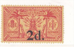 Nouvelles-Hébrides N °68** - Légende Française