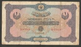 [NC] TURKEY / TURCHIA - OTTOMAN EMPIRE - 1 LIVRE (1331 - 1912) - Turchia