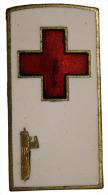 Distintivo Badge Croce Rossa Con Fascio #D910 - Italia