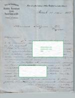 Document Du 24/05/1884 ARTHUR ROEDERER Vins De Champagne - Reims - 1800 – 1899