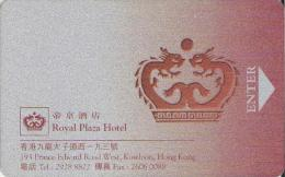 Hong Kong - Royal Plaza Hotel Magnetic Key Card Hotelkarte - Greece