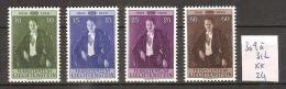 Liechtenstein 309 A 312 ** Côte 24 € - Liechtenstein