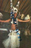 TAHITI - HOTEL TAAONE - LA NUIT DE LA DANSE TAHITIENNE  DANSEUSE DU GROUPE TEMAEVA - Tahiti
