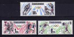 Czechoslovakia - 1988 - Olympic Games - MNH - Czechoslovakia