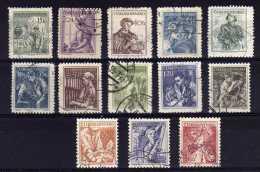 Czechoslovakia - 1954 - Workers - Used - Oblitérés