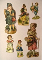 6 Découpis, Enfants, Grand Format, Non Collés - Enfants