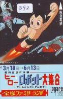 Télécarte Japon * MANGA * ASTRO BOY * Japan * ANIME (392) Phonecard Telefonkarte * - Comics