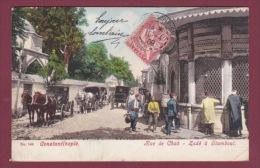 TURQUIE - 191213 - CONSTANTINOPLE - Rue Du Chah - Zadé à Stamboul - Turkey